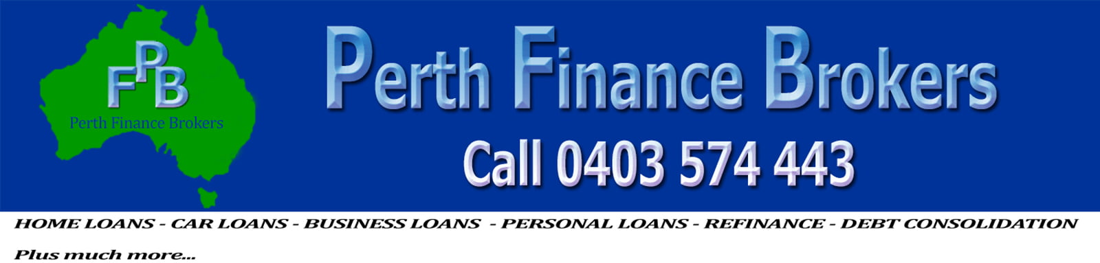 Finance & Mortgage Broker Perth